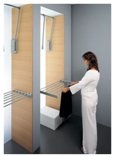 Adjustable trousers-rack